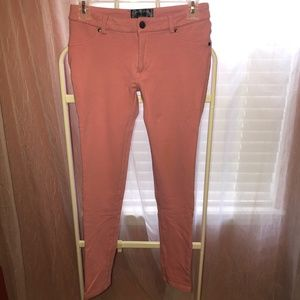 Ambiance pink skinny pants/jeggings